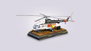 Макет вертолета Ми-8